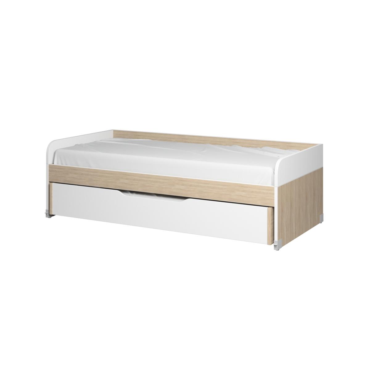 Кровать с выдвижным спальным местом картинки